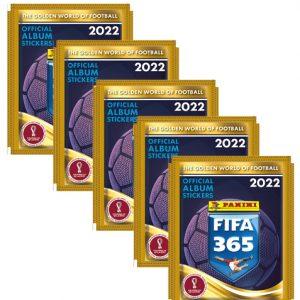 Panini FIFA 365 2022 Sticker 5x Stickertüten