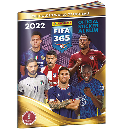 Panini FIFA 365 2022 Sticker Sammelalbum
