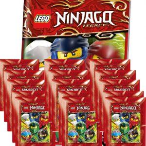 LEGO Ninjago Legacy Serie 2 Sticker Album + 15x Tüten