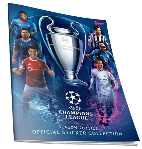 Topps Champions League Sticker 2021/2022 Sammelalbum