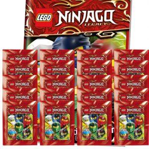 LEGO Ninjago Legacy Serie 2 Sticker Album + 20x Tüten