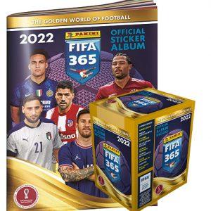 Panini FIFA 365 2022 Sticker Album + 1x Display je 36 Tüten