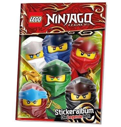 LEGO Ninjago Legacy Serie 2 Sticker Sammelalbum