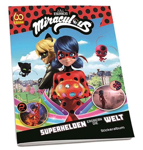 Panini Miraculous Ladybug Heroez in the World Sticker Album