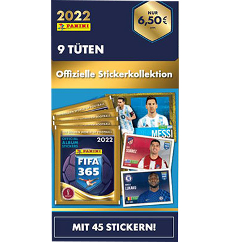 Panini FIFA 365 2022 Sticker 1x Blister