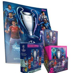 Topps Champions League Sticker 2021/2022 Bundle klein