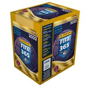 Panini FIFA 365 2022 Sticker 1x Display