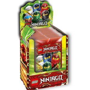 LEGO Ninjago Legacy Serie 2 Sticker 1x Display je 50 Tüten