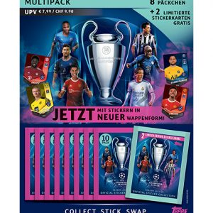Topps Champions League Sticker 2021/2022 Multipack