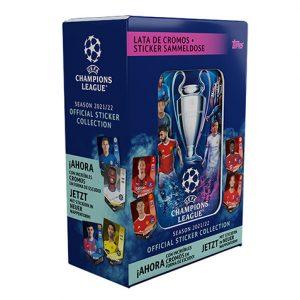 Topps Champions League Sticker 2021/2022 Tin