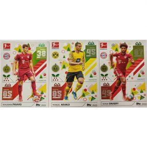 Topps Match Attax Bundesliga 2021/22 alle 48 XMAS Cards